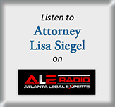 Listen to Attorney Lisa Siegel on ALE Radio