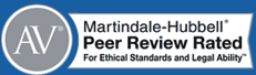 Martindale-Hubbell AV Peer Review Rated for Ethical Standards and Legal Ability